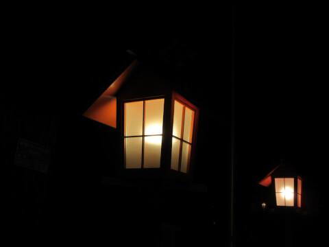 明かり 赤城神社