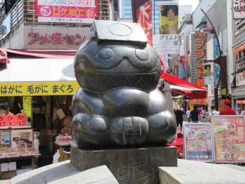 アメ横 銅像
