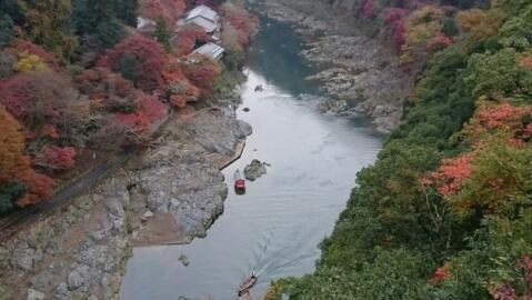 嵐山亀山公園展望