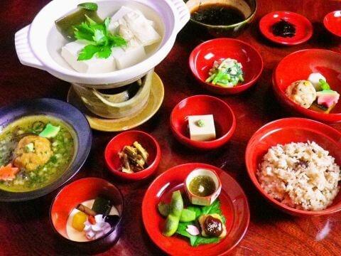 嵐山竹泉料理