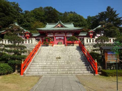 社殿 足利織姫神社