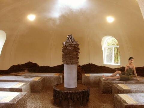 阿蘇健康火山温泉の蒸気風呂