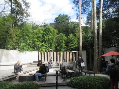 大楠そばのカフェ「五色の杜」