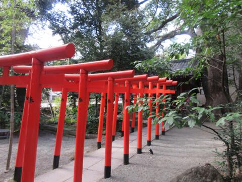 来宮神社の稲荷神社