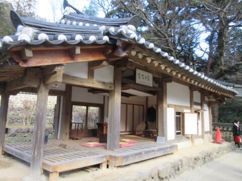 熱海梅園「韓国式庭園」の建築