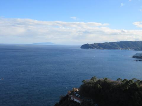 熱海城天守閣からの景色