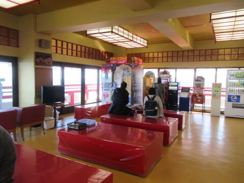 熱海城の天守閣展望台