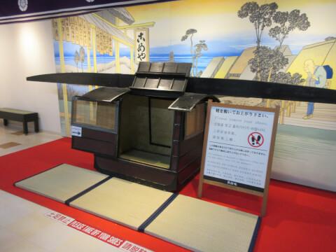 熱海城5Fの江戸体験コーナー