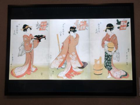 熱海城の浮世絵と春画