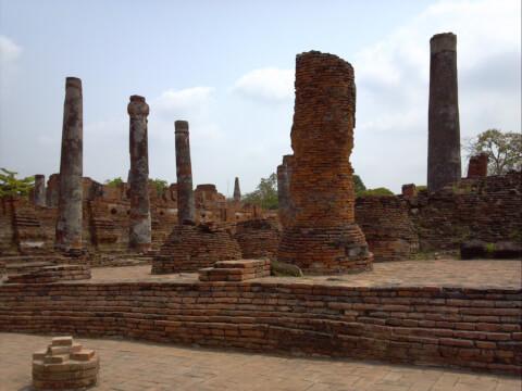 王宮の廃墟