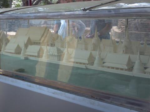 王宮の模型