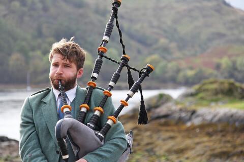 スコットランド 観光 バグパイプ