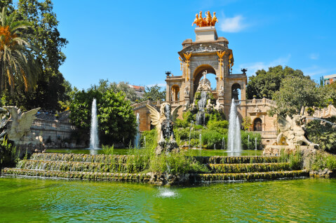 バルセロナのおすすめ観光スポット、シウタデリャ公園