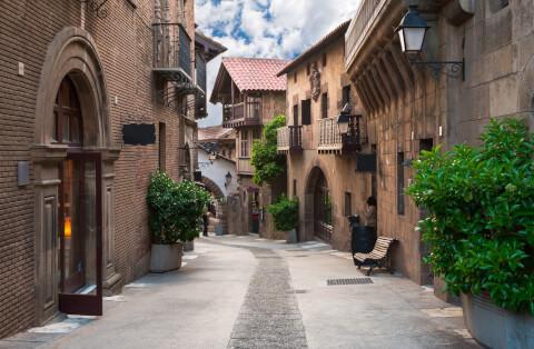 バルセロナのおすすめ観光スポット、スペイン村