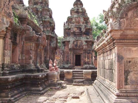 バンテアイスレイ カンボジア