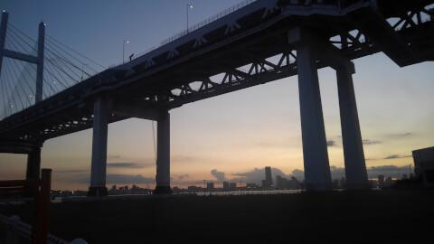 ベイブリッジ 横浜