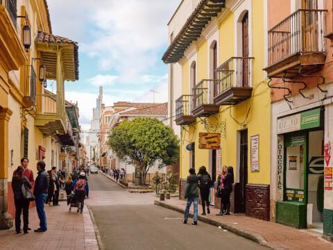 ボゴタ 街並み 観光 コロンビア