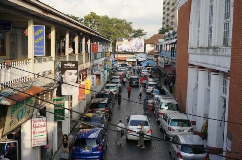 ボージョーアウンサン市場 Bogyoke Aung San Market