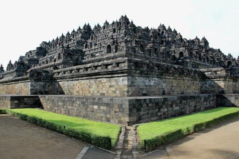 ボロブドール寺院遺跡 インドネシア