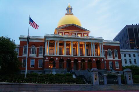 ボストン マサチューセッツ州会議事堂