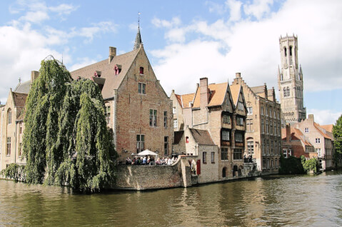 ベルギー ブルージュ 観光