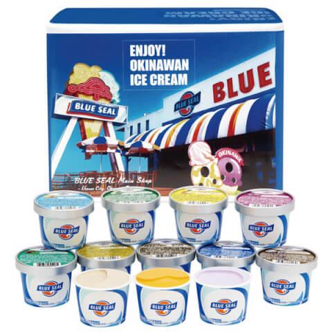 沖縄 お土産 ブルーシールアイス