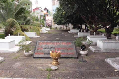 トゥールスレン虐殺博物館 カンボジア
