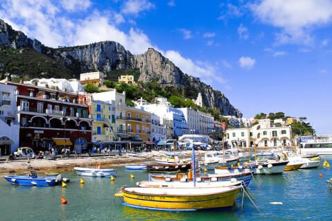 カプリ島 イタリア