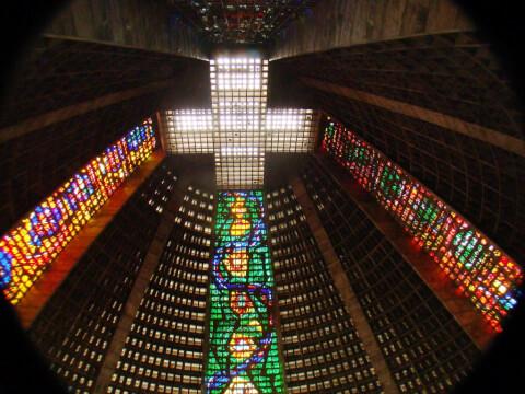 リオデジャネイロ Catedral Metropolitana de Sao Sebastiao