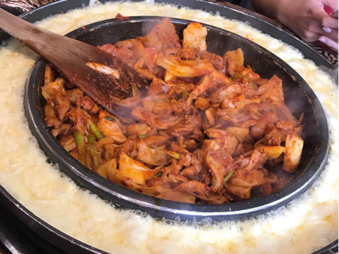 チーズダッカルビ 韓国
