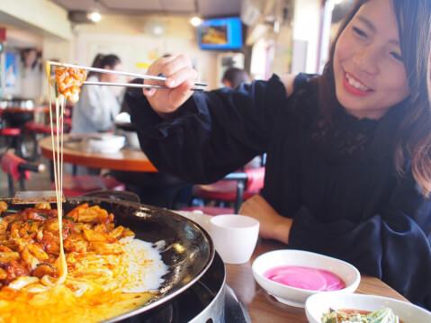 チーズダッカルビ 韓国料理