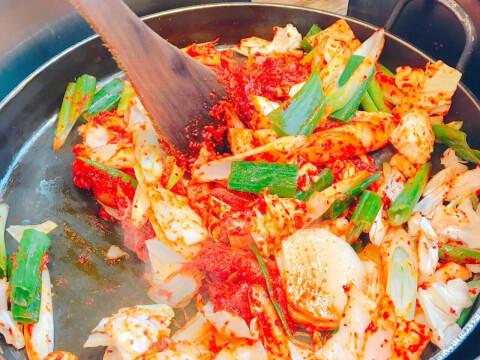 チーズポンタッ 韓国料理