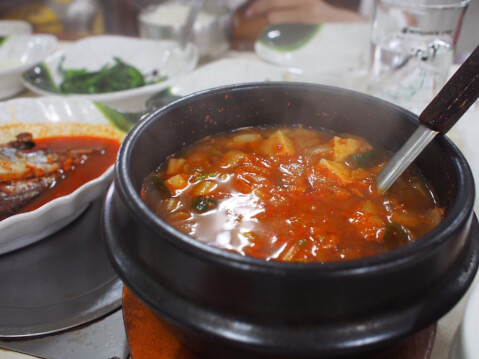 チゲ 韓国料理