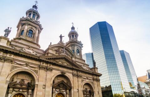 チリのおすすめ観光スポット、サンティエゴ・メトロポリタン大聖堂