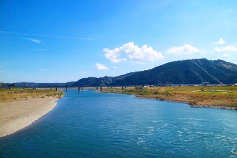 日本 絶景 高知 四万十川