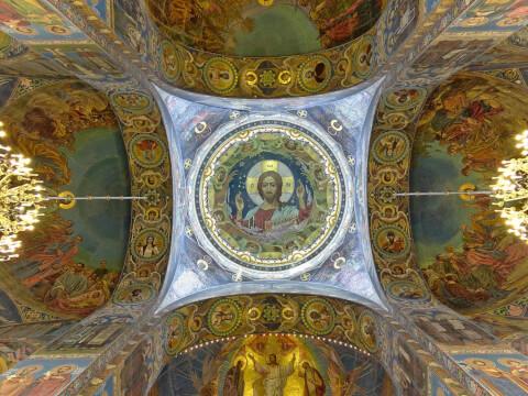血の上の救世主教会 Храм Спаса на Крови ロシア