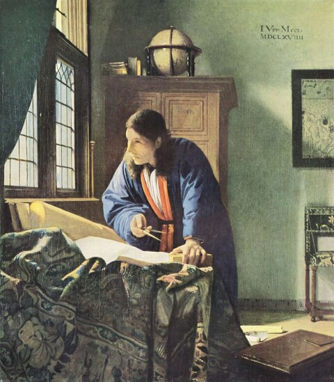 フェルメール地理学者