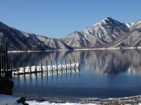中禅寺湖 冬