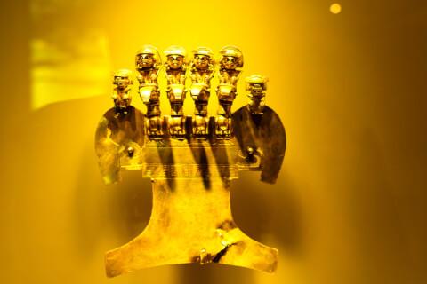 黄金博物館 展示品 ボゴタ コロンビア