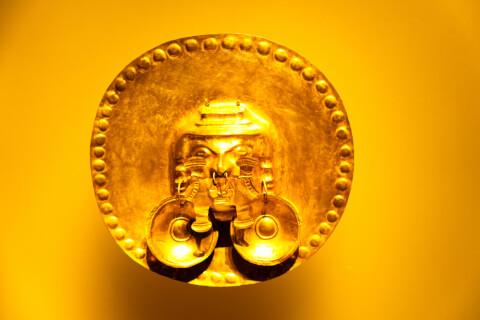 黄金博物館 ボゴタ コロンビア