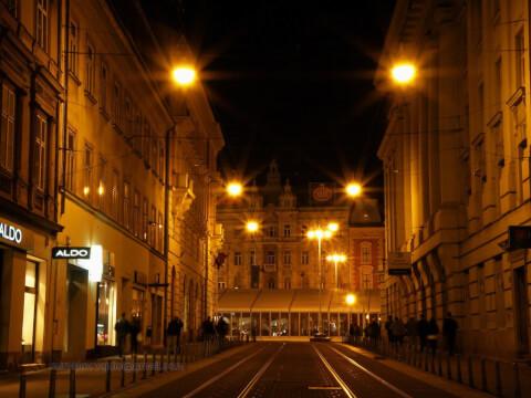 croatia-night クロアチア 夜 観光 旅行