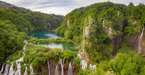 クロアチア、プリトヴィッツェ国立公園