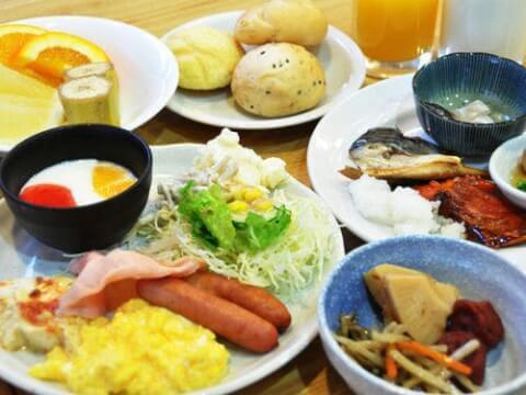 ダイワロイネットホテル大分朝食