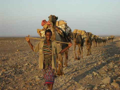 ダナキル砂漠 エチオピア