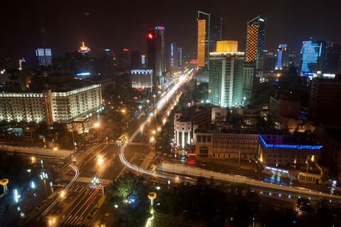 夜景 成都 Chengdu