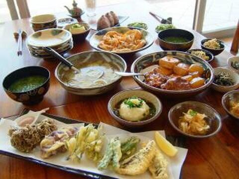 yugafu_yamabare_dinner