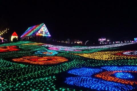 東京ドイツ村 Winter Illumination 千葉県 関東 おすすめ イルミネーション