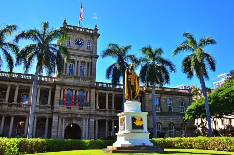 downtown ハワイ ホノルル ダウンタウン