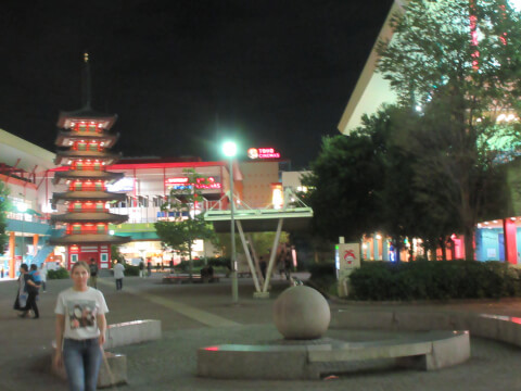ららぽーと海老名 中央公園