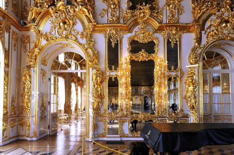 エカテリーナ宮殿 Екатерининский дворец ロシア 観光